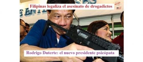 Duterte, el nuevo presidente loco.