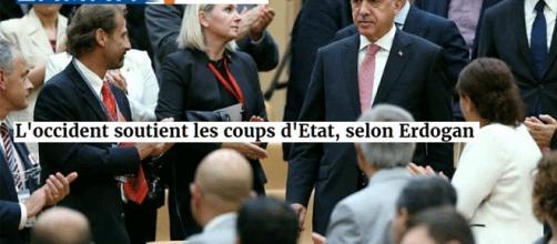 Erdogan accuse l'Europe et les États-Unis, son chef d'état-major accuse la CIA pour le coup d'État