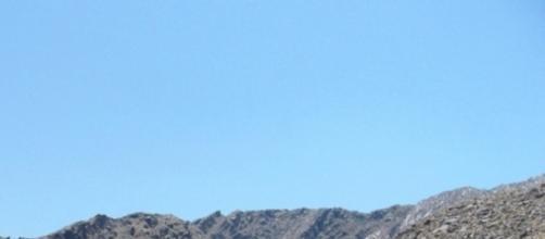 Palm Springs mountain view by Patti Pietschmann