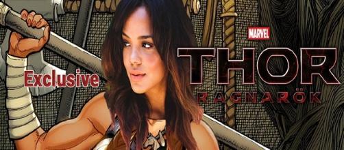 Tessa Thomson confirma con una imagen su rol como 'Valkiria' durante 'Thor: Ragnarok'