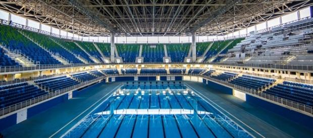 Estádio Aquático é lacrado por ameaça de bomba