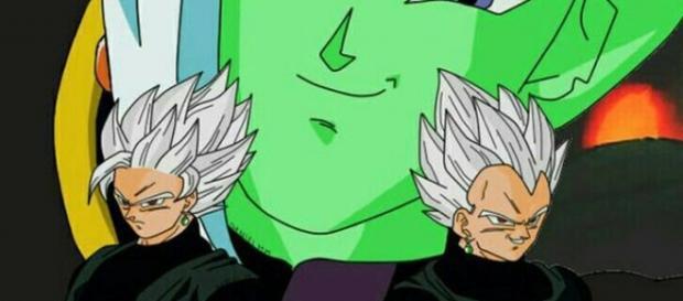 imagen referencial de black goku y black vegeta