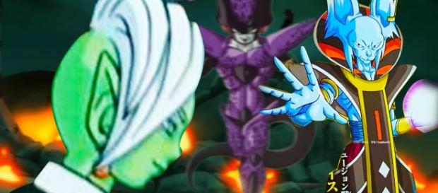 ZAMASU Y WHISS DRAGON BALL SUPER
