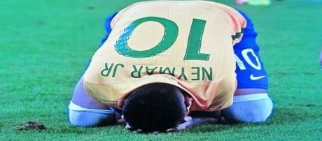 Neymar: ouro inédito para o Brasil