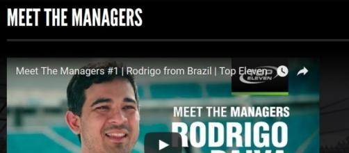"""Il primo video della serie """"Meet the Managers"""""""