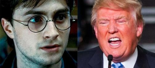 Trump needs to start campaigning against literate people now/Photo via http://mashable.com/2016/08/19/harry-potter-donald-trump-study-jk-rowling/