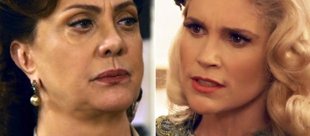 Sandra exige dinheiro a Anastácia para libertar Filomena e seu bebê