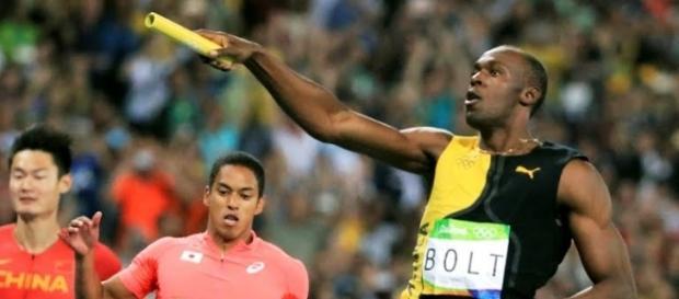Usain Bolt trascina la Giamaica al titolo olimpico nella staffetta 4x100