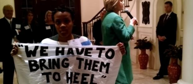 Watch A Black Lives Matter Activist Get In Hillary Clinton's Face - thefederalist.com