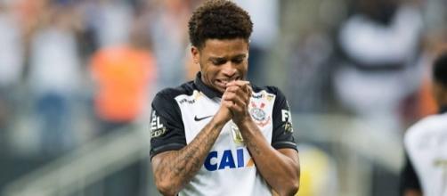 André, centroavante do Corinthians