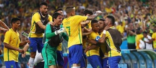 La gioia incontenibile della selecao, l'oro del calcio è realtà