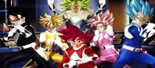 Los Power Rangers Z por fin el equipo esta completo.