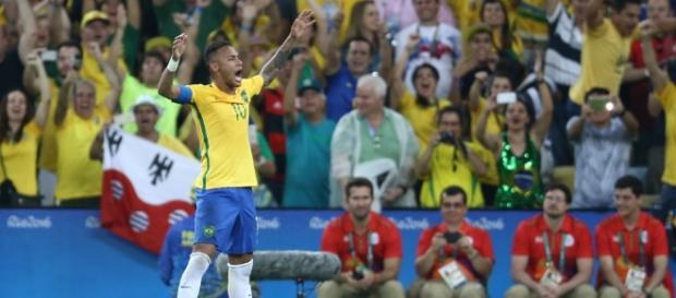 A seleção brasileira fatura o Ouro Olímpico