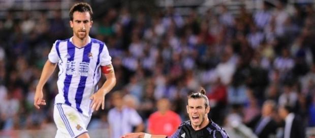 Bale ha sido uno de los jugadores del partido frente a la Real. Fuente: La Vanguardia