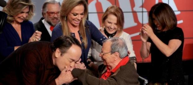 Gil Gomes recebe homenagem na televisão