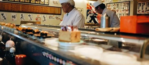 Heiroku Sushi, el más barato de Tokio. Foto: Ana Fernández