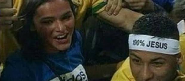 Neymar e Bruna são vistos juntos de novo