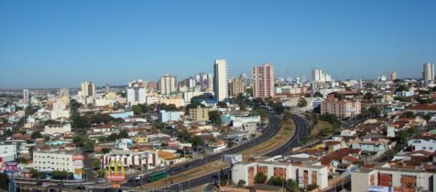 Uberlândia, cidade do Triângulo Mineiro.