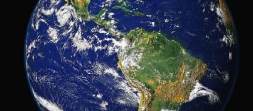 """Blue Marble"" image of Earth, courtesy of NASA"