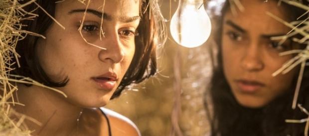 Luzia revela a Olívia que ela não é irmã de Miguel