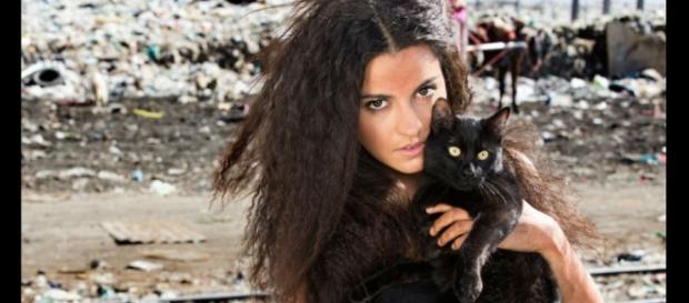 Maite Perroni em 'A Gata' (Foto: Televisa)