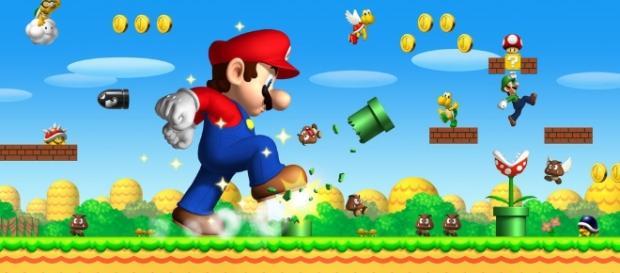 Mario Bros atravessou o planeta no seu famoso cano verde até chegar ao Rio de Janeiro
