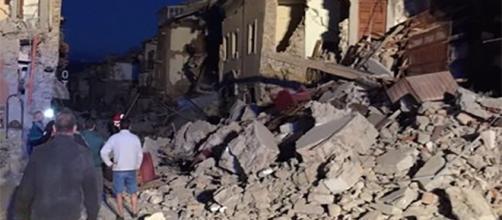 Il terribile terremoto che ha colpito il centro Italia