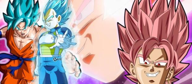 BLACK ROSE VS VEGETA AZUL DEVIANTART