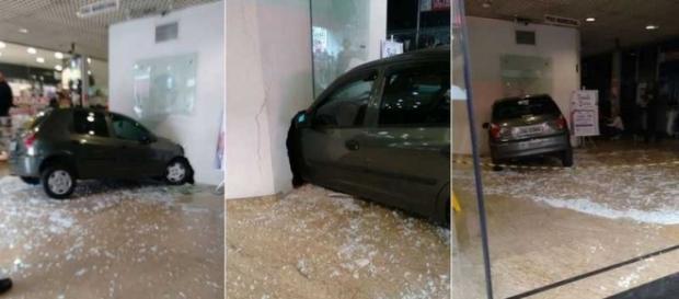 Carrou invadiu shopping na região central de SBC (Fotos: Carlos Roberto)