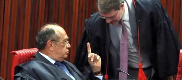 Gilmar Mendes comenta delação a Toffoli