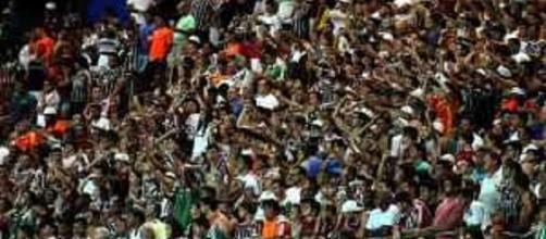 Fluminense espera contar com o Mané Garrincha cheio diante do Palmeiras (Foto: Net Flu)