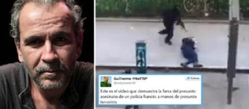 Guillermo Toledo y cómo atacó indirectamente a 'Charlie Hebdo', dudando de la autoría de uno de los terroristas yihadistas.
