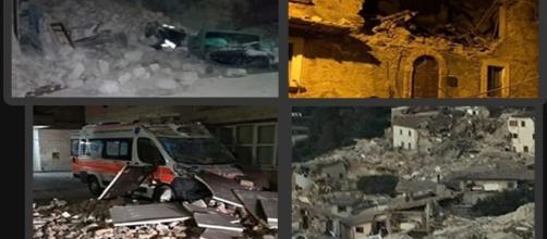 I disastri del terremoto di Accumoli