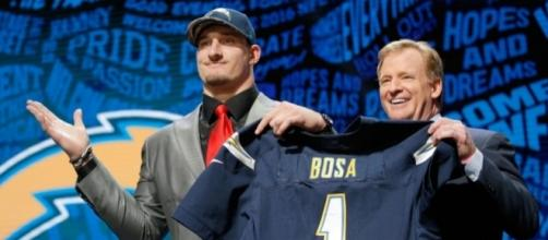 Joey Bosa skipping San Diego Chargers minicamp due to contract dispute - denverpost.com