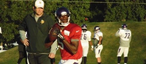 Quarterback Teddy Bridgewater got hurt on Tuesday. flickr.com