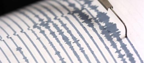 Sismografo tipicamente usato per rilevare il terremoto