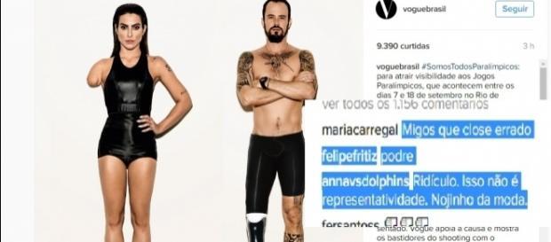 Cleo Pires e Paulo Vilhena em campanha