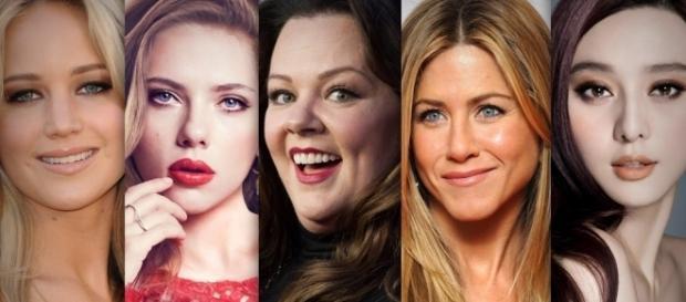 Las 5 actrices mejor pagadas de Hollywood