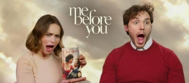 """Sam Claflin ed Emilia Clarke hanno pianto leggendo """"Io Prima Di Te ... - luigitoto.it"""