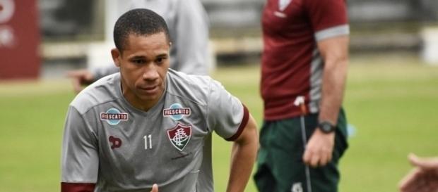 Wellington mostra animação nesse retorno ao Fluminense (Foto: UOL)