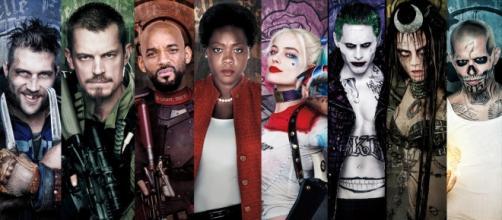 Il cast dei supereroi di Suicide Squad