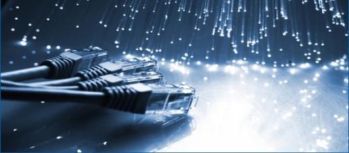 Imagen de varios tipos cables de redes