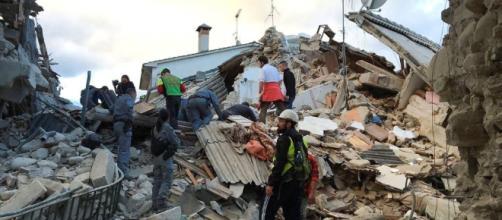Terremoto en Italia, imagen de las zonas devastadas en Amatrice