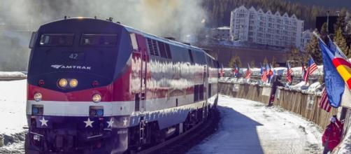 Winter Park Express train/photo via Carl Frey, Winter Park Resort