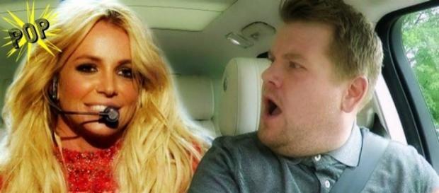Britney Spears si concede per un Carpool Karaoke, con James Corden