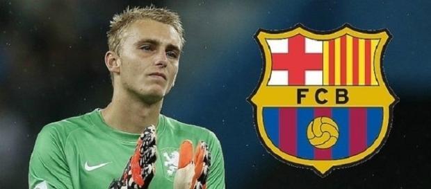 Jasper Cillessen, nuevo portero del Barcelona