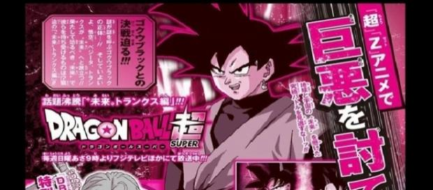 Scan de la revista Shonen Jump