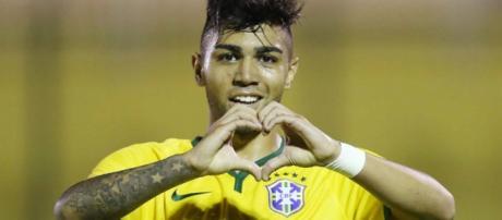 Gabriel foi atacante da seleção Olímpica do Brasil Rio 2016
