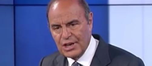 Bruno Vespa conduttore di Porta a Porta.