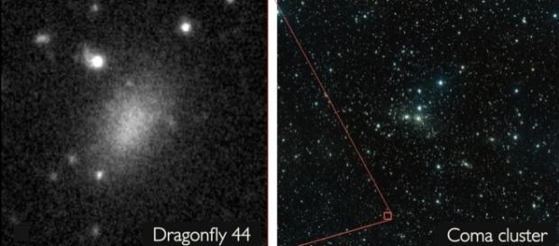 Dragonfly 44 é composta quase inteiramente de matéria escura